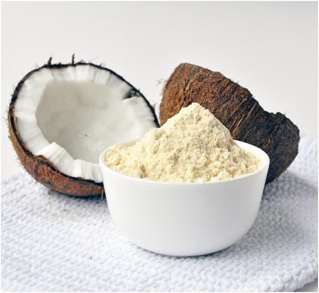 Os benefícios da farinha de coco